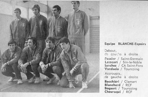 1970 Eq France Espoir