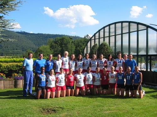 2007 Eq de France A' en stage avec les A - prépa Universiade