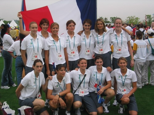 2003 Equipe de France Universiade Daegu/Corée