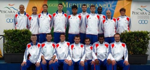 2009 Equipe France A' aux Jeux Méditerrannéens en Italie