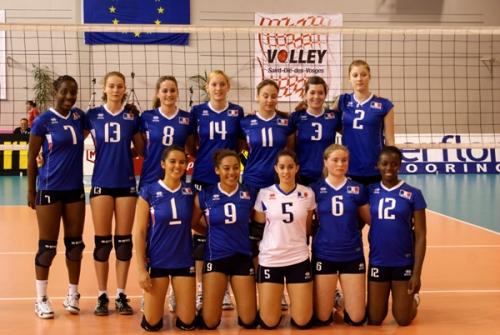 2010 Eq de France Junior TQCE à SaintDié