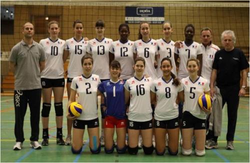 2010 Eq de France cadettes 3è du Tournoi des provinces francophones Bruxelles