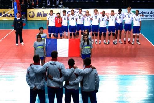 2011 Equipe de France Jeunes CM-19 Argentine 4è
