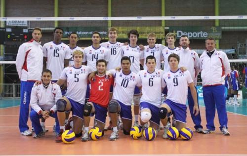 2011 Equipe de France Jeunes au CM-19 Argentine 4è