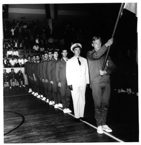 1966 Equipe de France militaire au CM à Ankara