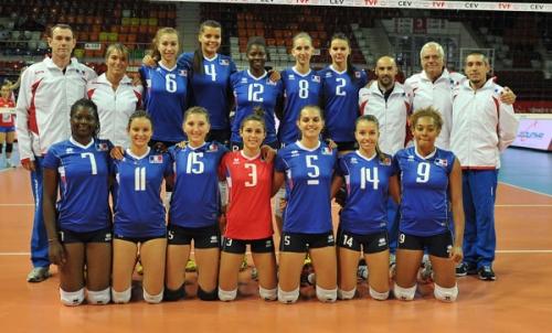 2012 Equipe de France Junior en CE en Turquie