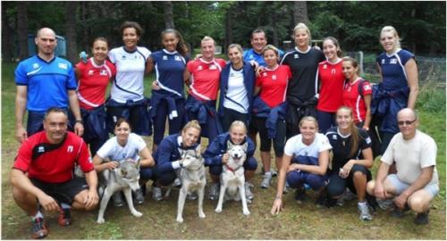 2012 Equipe de France A en prépa du TQCE