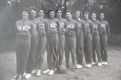 1954 Equipe de France A   France - Pologne