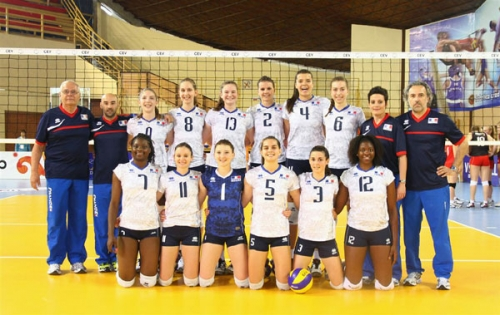 2013 Equipe de France Junior-20 - TQCM en Serbie