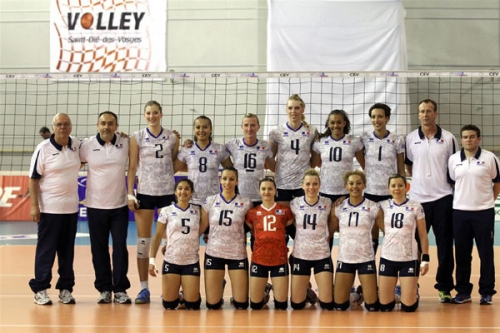 2013 Equipe de France A - Victorieuse de l'Ukraine au GoldenSet