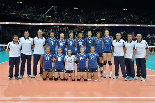 2013 Equipe de France à l'Euro en Suisse - en quart
