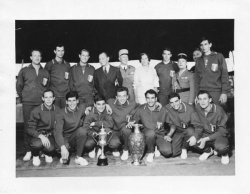 1962 Equipe de France militaire - Championne du Monde