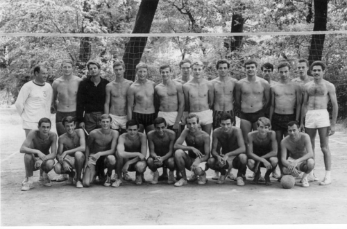 1963 Equipe de France Juniors et Espoirs/A' - stage été CREPS Montpellier