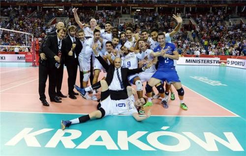 2014 Equipe de France au MONDIAL - suite à la victoire qualifiante pour le 2è tour