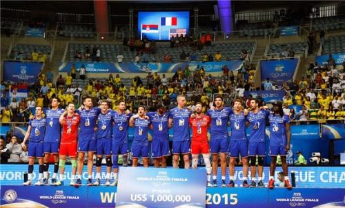 2015 Equipe de France - en WL remporte le Final6 à Rio devant Serbie et USA