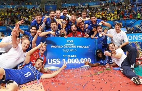 2015 Equipe de France - en WL médaillée d'or