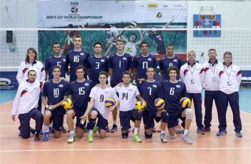 2015 Equipe de France Juniors au CM u21 au Mexique - 10è