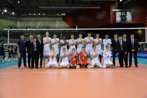 2015 Equipe de France Championne d'Europe - match ouverture   Turin