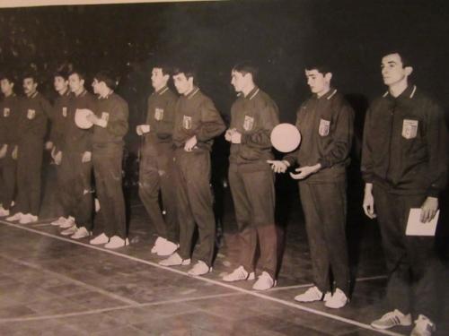1968 Equipe de France militaire au Championnat du Monde à Téhéran - médaille bronze