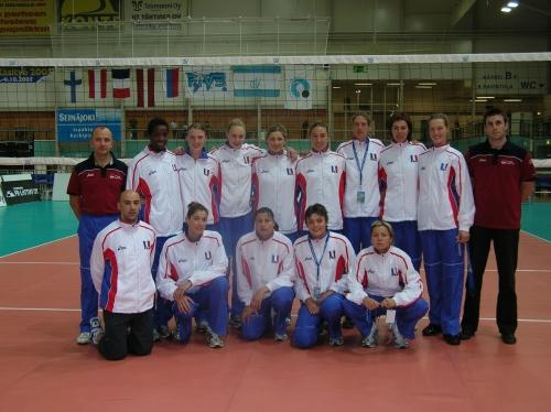 2005 Equipe de France Préparation saison internationale
