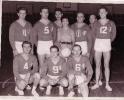 1957 Equipe de France A - contre la Pologne à Paris