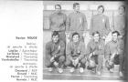Equipes de France de Volley-Ball masculines  :: 1970 Eq France A-A'  équ. rouge
