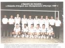 1987 Eq France A Vice-Championne d'Europe en Belgique