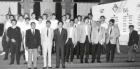 1986 Eq France A CM réception à Paris