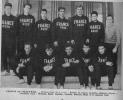 1957 Equipe de France Universitaire - Jeux Mondiaux Universitaires à Paris