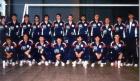 1986 Eq France A vers le CM organisé par la France