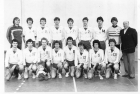 1984 Equipe de France Junior 4è au CE en France
