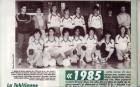 1985 Equipe de France Cadette