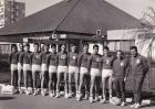 1965 Equipe de France en préparation à Bagnols/Cèze