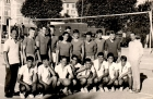 1962 Equipe de France Junior - stage Châtel - match démo à Thiers