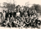 1958 espoirs en stage avec les entraîneurs