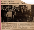 1967 Equipe de France en Roumanie - Réception à Bacau