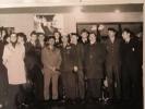 1968 Equipe de France militaire au Championnat du Monde à Téhéran - réception officielle