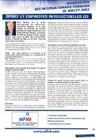 VBMagazine juin 2009 Sport et capacités intellectuelles (2) / interview de René Pénisson