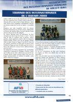 Juillet 2008 Tournoi des Internationaux de l'Avenir